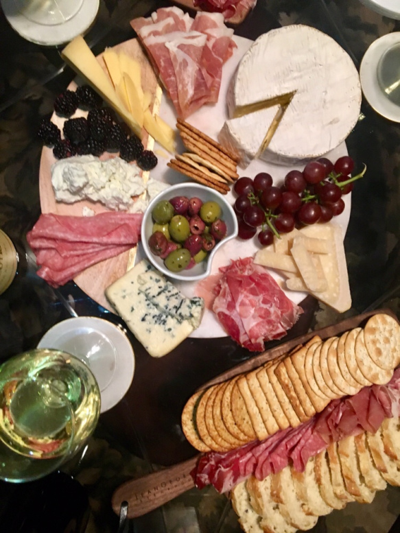 Girls Night | A Wine + Cheese Party | The Golden Lining