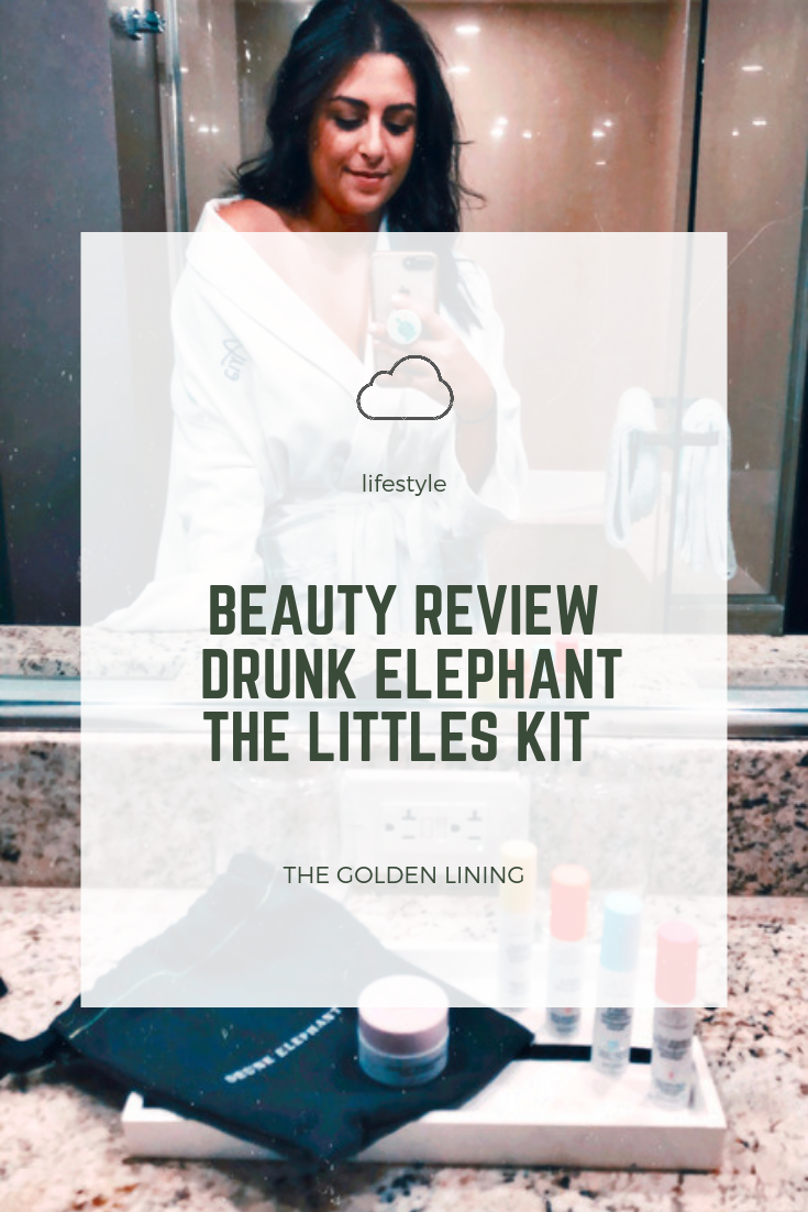 Beauty Review  | Drunk Elephant: The Littles Kit - The Golden Lining