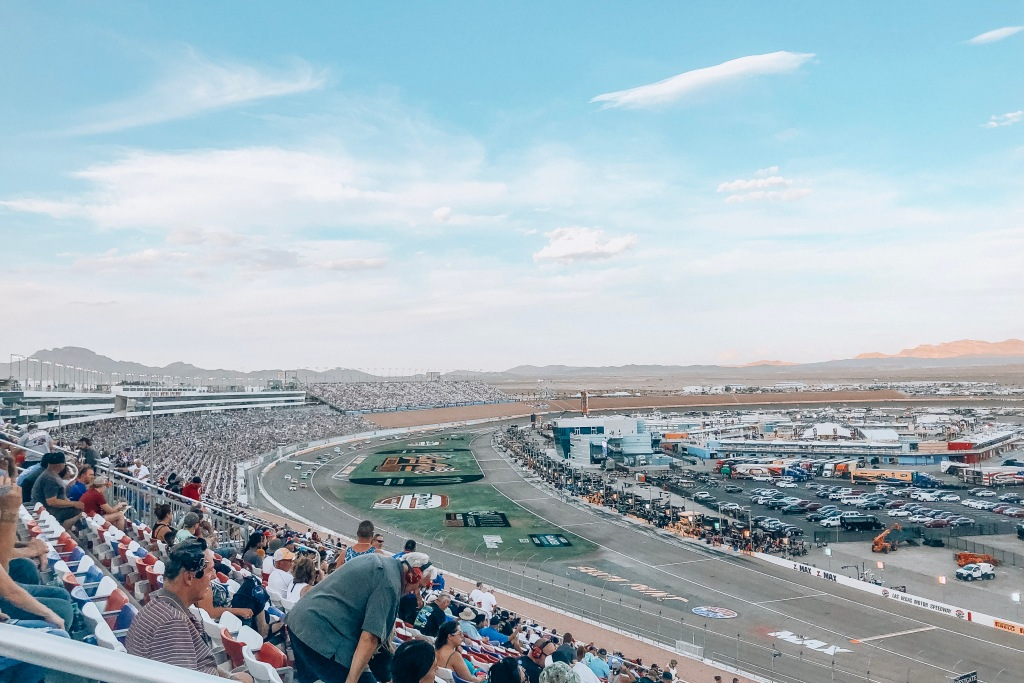 The Golden Lining, Off to the Races | My NASCAR Experience